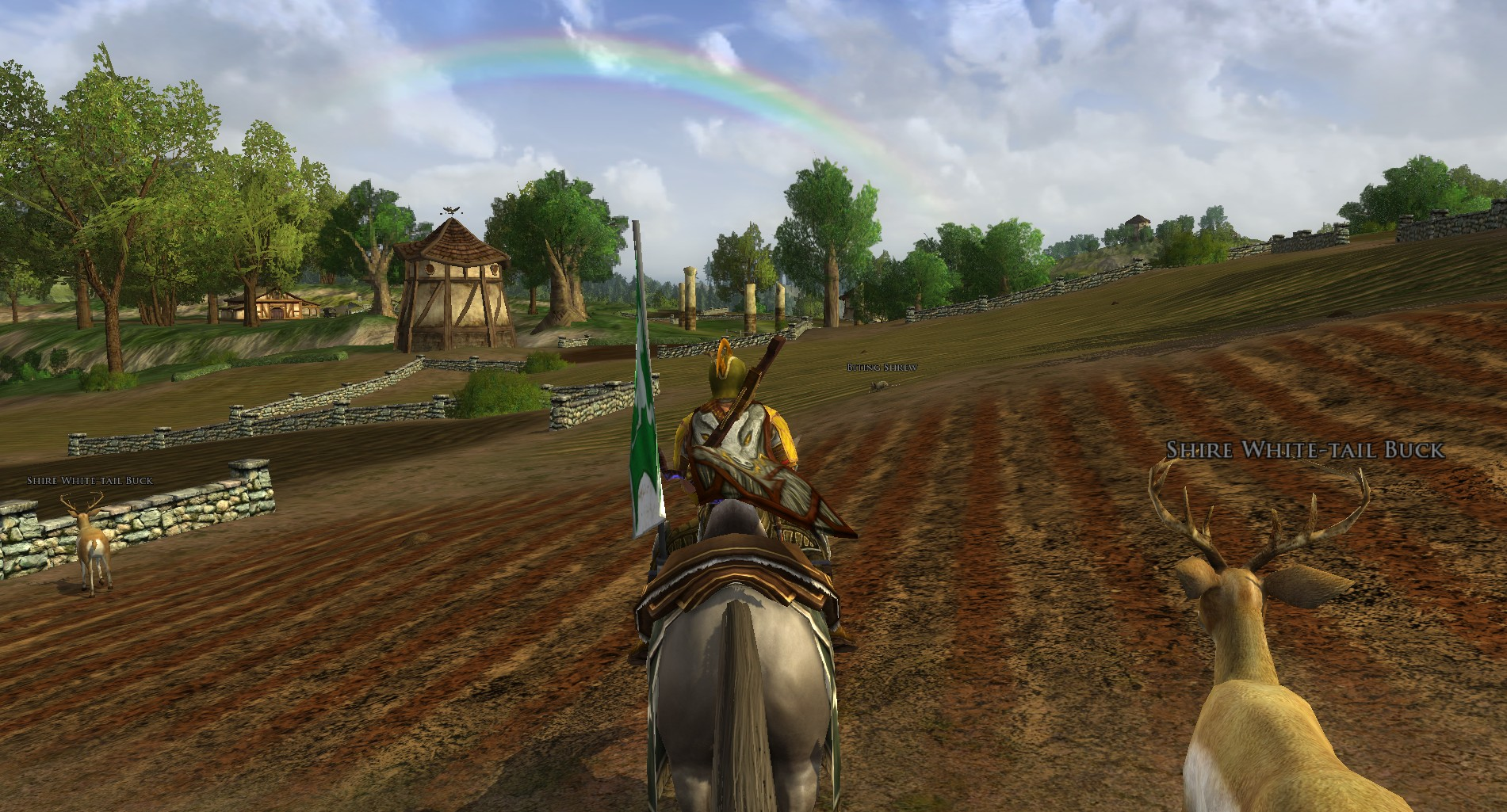 Rainbow over the Shire